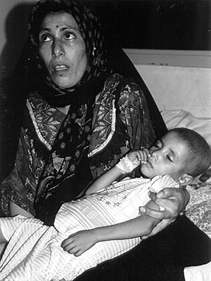 Iraqi Woman and Child